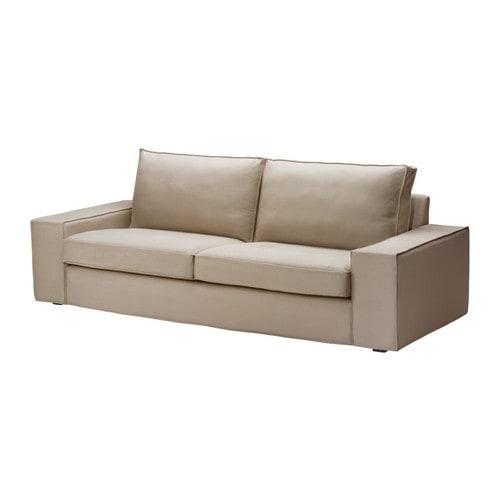 ikea kivik bezug 3er sofa dansbo beige 17 84 g nstiger bei. Black Bedroom Furniture Sets. Home Design Ideas