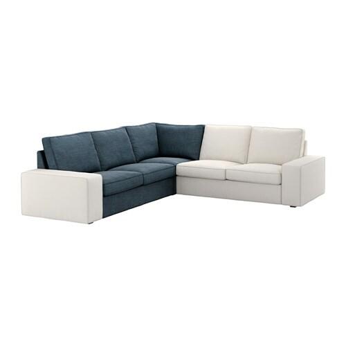 kivik eckelementbezug hillared dunkelblau ikea. Black Bedroom Furniture Sets. Home Design Ideas