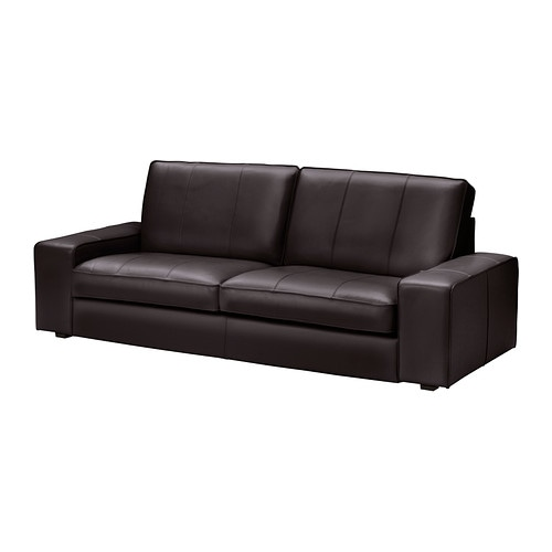 kivik 3er sofa grann bomstad dunkelbraun ikea. Black Bedroom Furniture Sets. Home Design Ideas