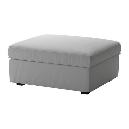 kivik hocker mit aufbewahrung orrsta hellgrau ikea. Black Bedroom Furniture Sets. Home Design Ideas