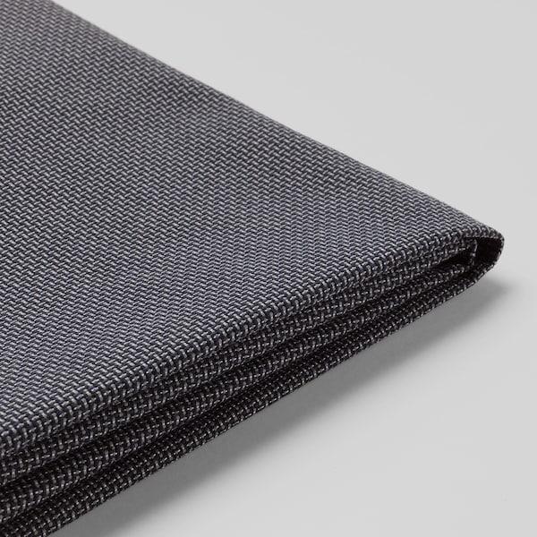 Swell Bezug 2Er Sofa Klippan Kabusa Dunkelgrau Bralicious Painted Fabric Chair Ideas Braliciousco