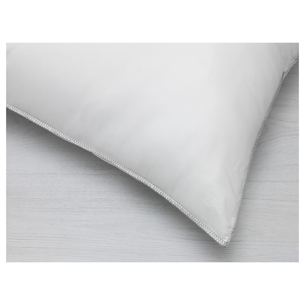 KLOTULLÖRT Seitenschläferkissen, weiß, 40x140 cm