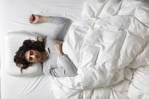 KLUBBSPORRE Kissen erg./alle Schlafpositionen, 35x74 cm