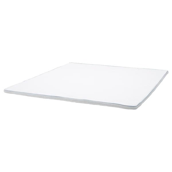KNAPSTAD Matratzenauflage, weiß, 180x200 cm