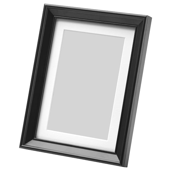 KNOPPÄNG Rahmen, schwarz, 13x18 cm