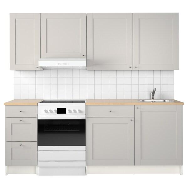 Küche KNOXHULT grau