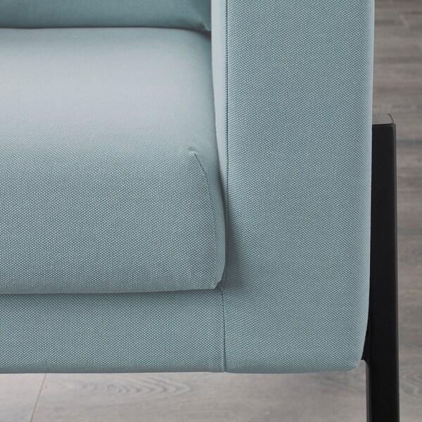 KOARP Sessel, Orrsta hellblau/schwarz