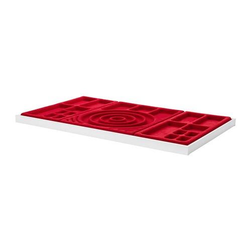 Komplement ausziehboden mit schmuckeinsatz 100x58 cm ikea - Ikea portagioie ...