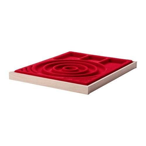 komplement ausziehboden mit schmuckeinsatz 50x58 cm ikea. Black Bedroom Furniture Sets. Home Design Ideas