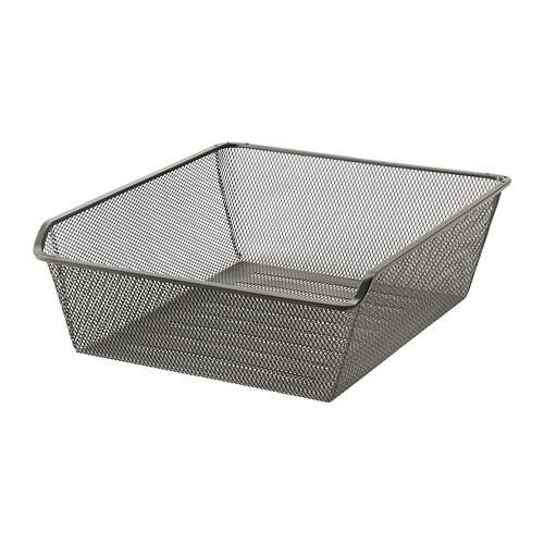 komplement netzdrahtkorb mit auszugschiene 50x58 cm ikea. Black Bedroom Furniture Sets. Home Design Ideas