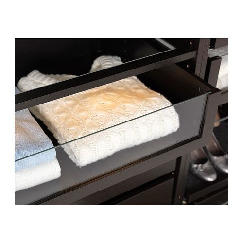 komplement schublade mit glasfront 75x58 cm ikea. Black Bedroom Furniture Sets. Home Design Ideas