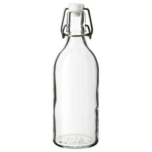 KORKEN Flasche mit Verschluss Klarglas 0.5 l