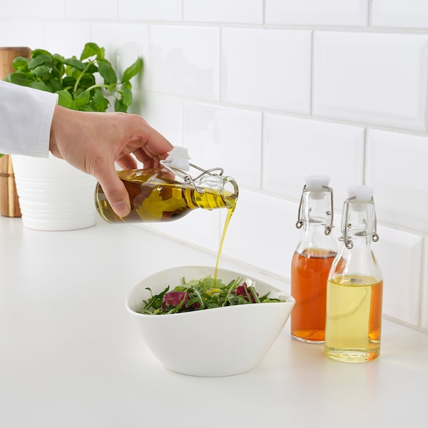 KORKEN Flasche mit Verschluss, Klarglas, 15 cl