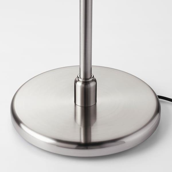 KRYSSMAST Tischleuchtenfuß vernickelt 13 W 40 cm 24 cm 200 cm