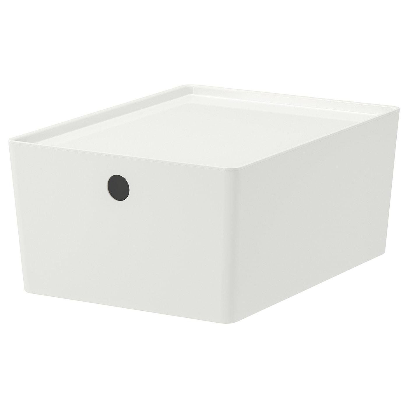 IKEA KUGGIS Box mit Deckel - 35 x 26 x 15 cm