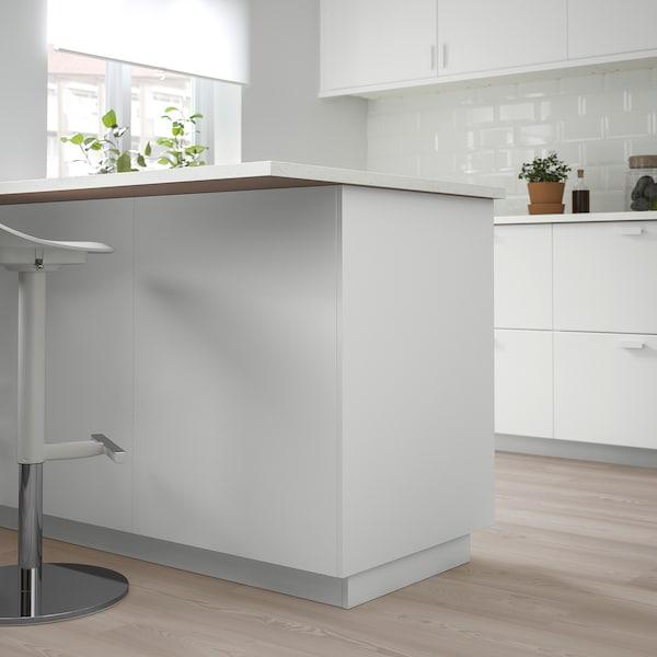 KUNGSBACKA Deckseite, matt weiß, 39x240 cm