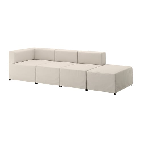 KUNGSHAMN 4er-Sitzelement - Idekulla beige - IKEA