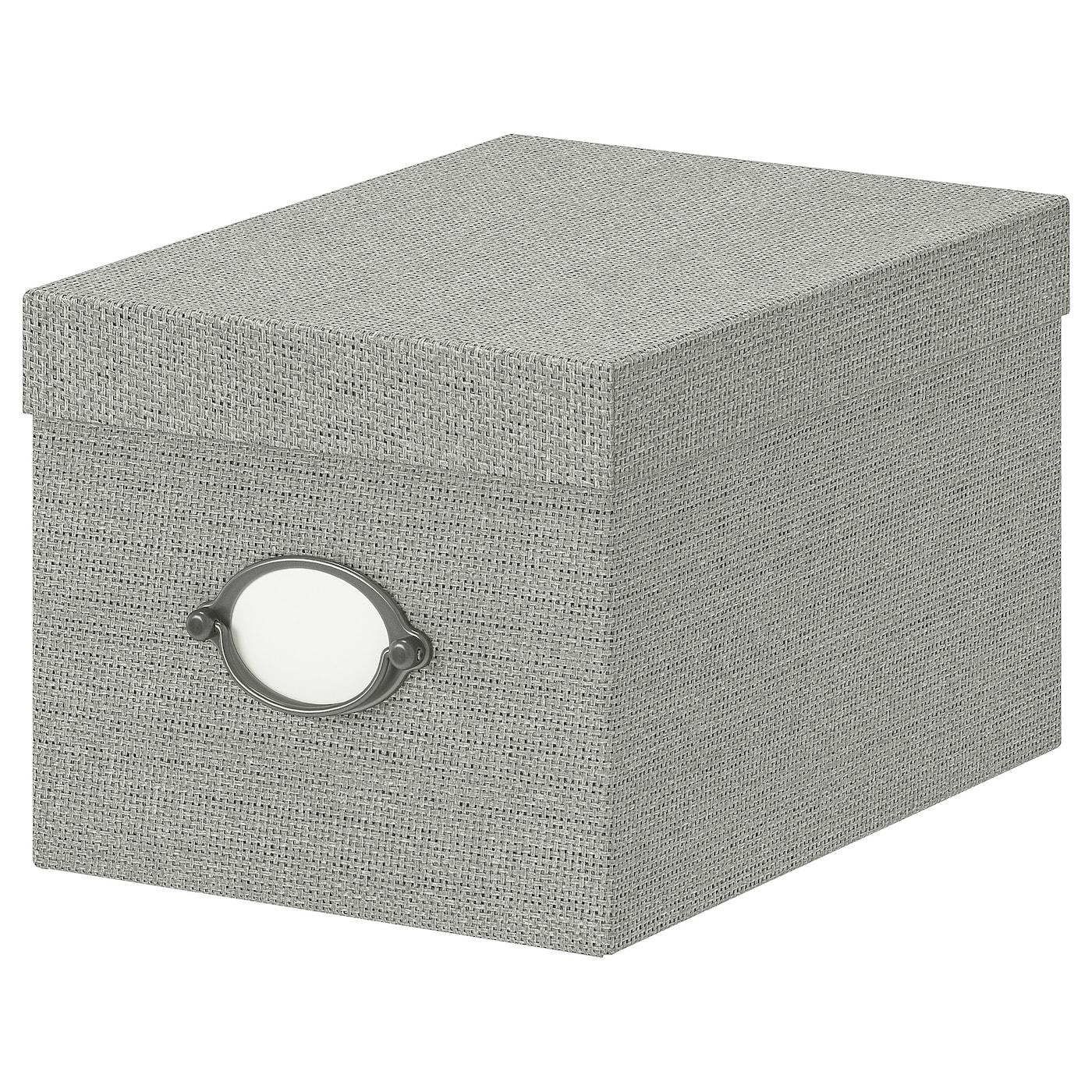 IKEA KVARNVIK Kasten mit Deckel - 25 x 18 x 15 cm
