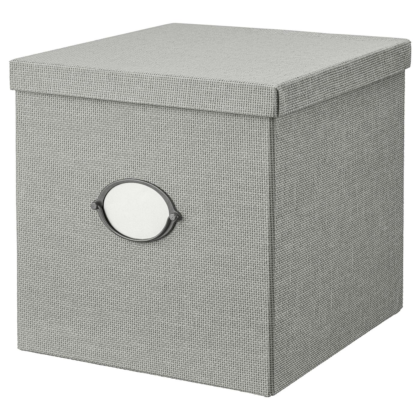 IKEA KVARNVIK Kasten mit Deckel - 35 x 32 x 32 cm