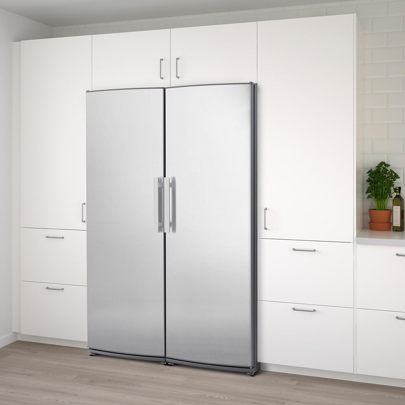KYLANDE Kühlschrank, Edelstahl, 387 l