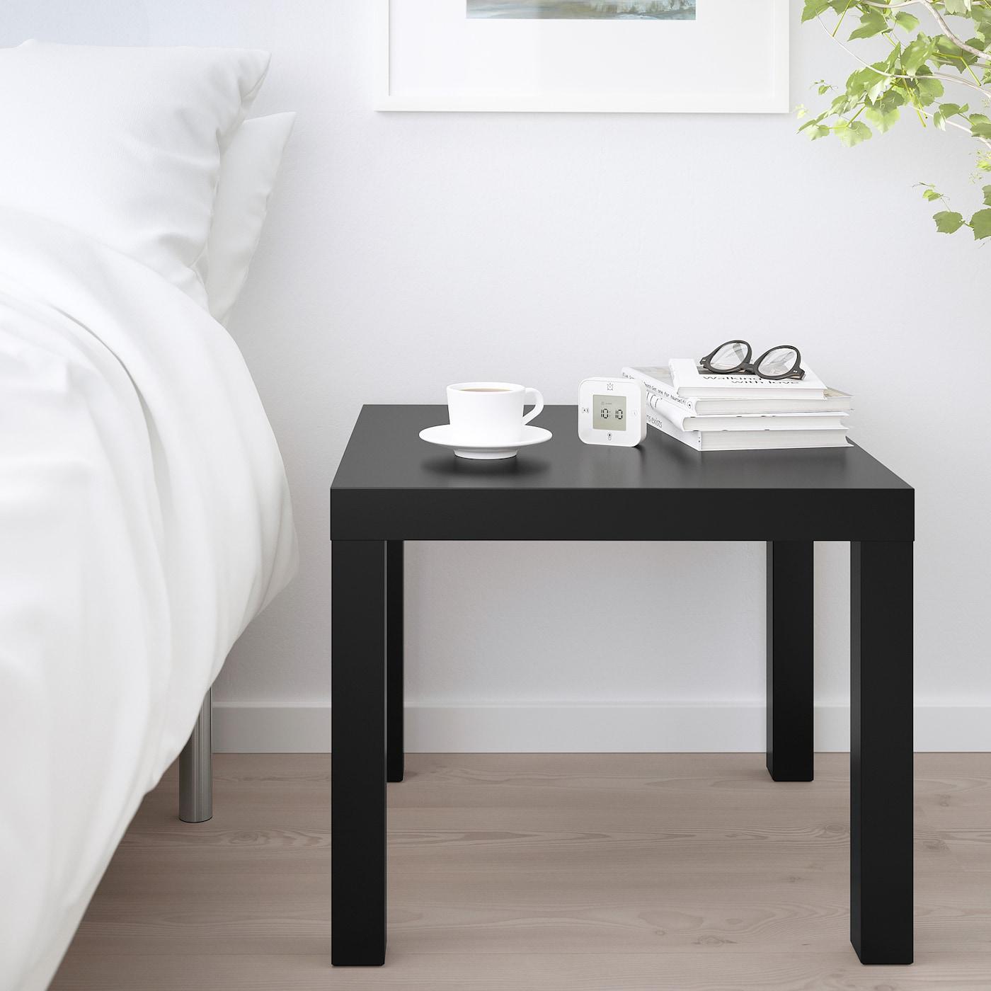 LACK Beistelltisch schwarz 55x55 cm