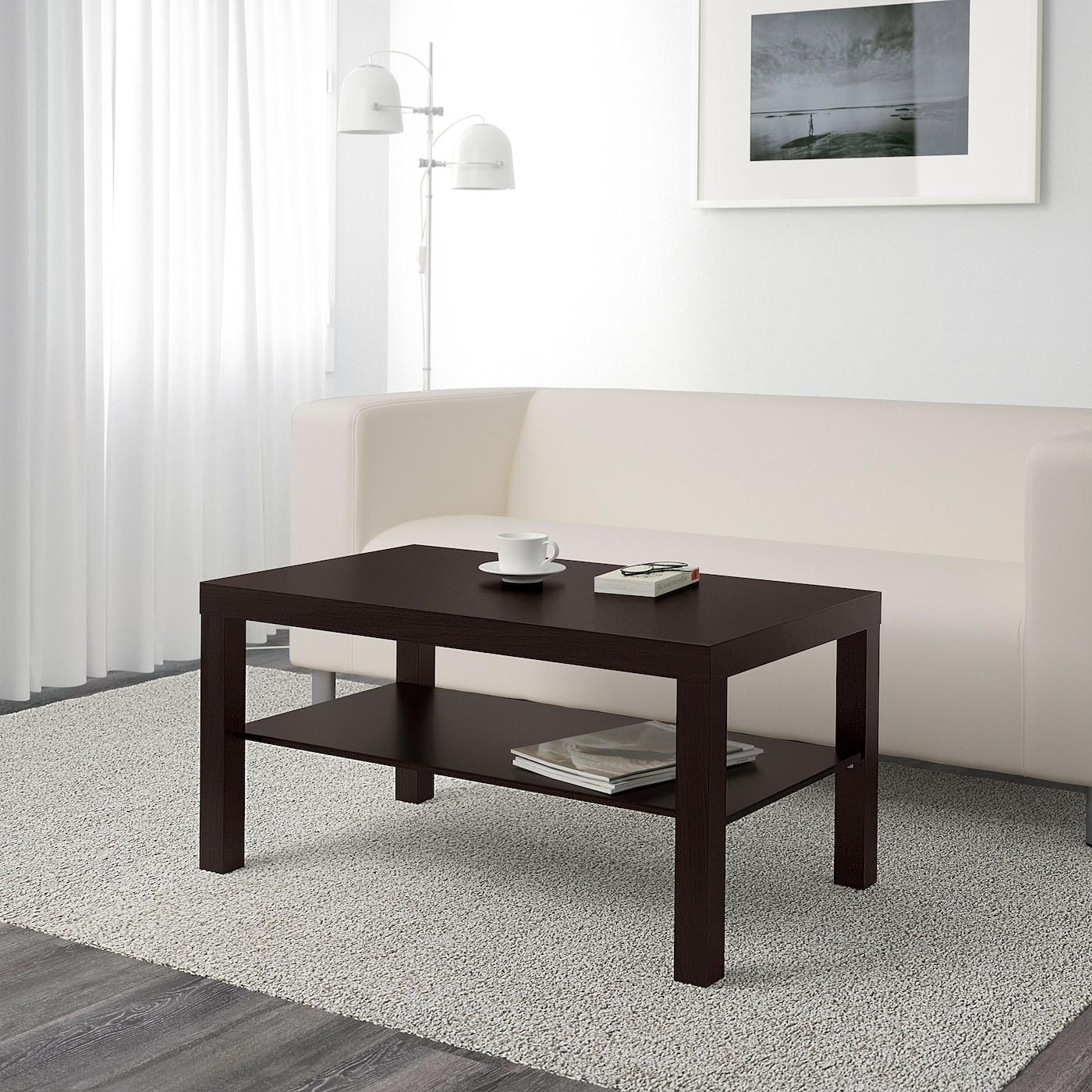 IKEA LACK Couchtisch in schwarzbraun 90x55cm Beistelltisch