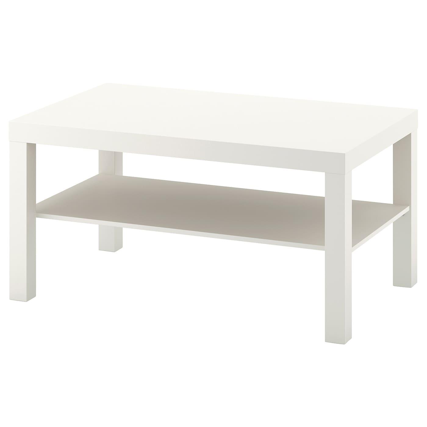 LACK Couchtisch - weiß 36x36 cm