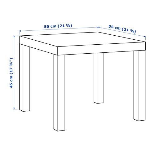 Lack Beistelltisch Weiß Ikea