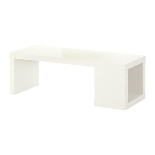 Lack Couchtisch Hochglanz Weiss Ikea