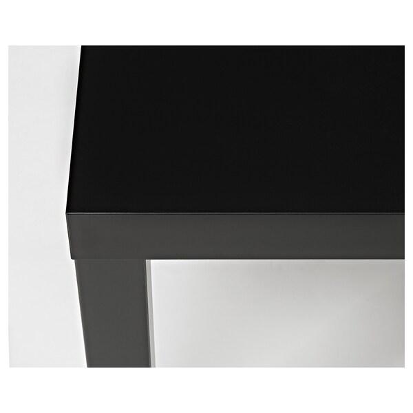 LACK Satztische 2 St. schwarz/weiß