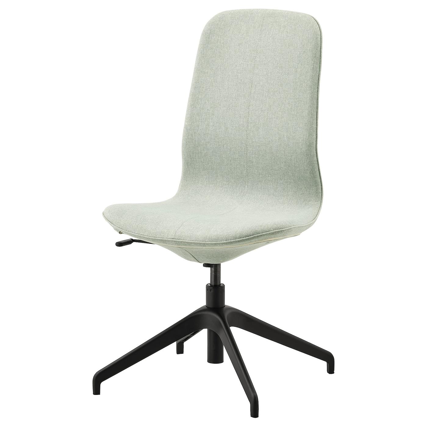 IKEA LÅNGFJÄLL Konferenzstuhl Gunnared hellgrün, schwarz Gunnared hellgrün | Büro > Bürostühle und Sessel  > Konferenzstühle | IKEA