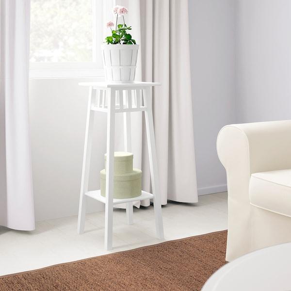 LANTLIV Blumenständer weiß 32 cm 32 cm 78 cm 25 kg