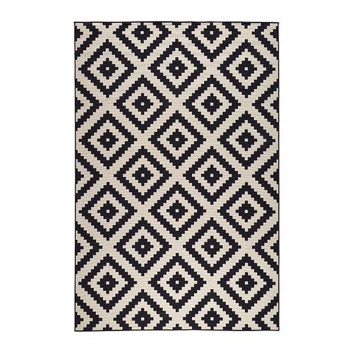 Teppich ikea weiß  LAPPLJUNG RUTA Teppich Kurzflor - 200x300 cm - IKEA