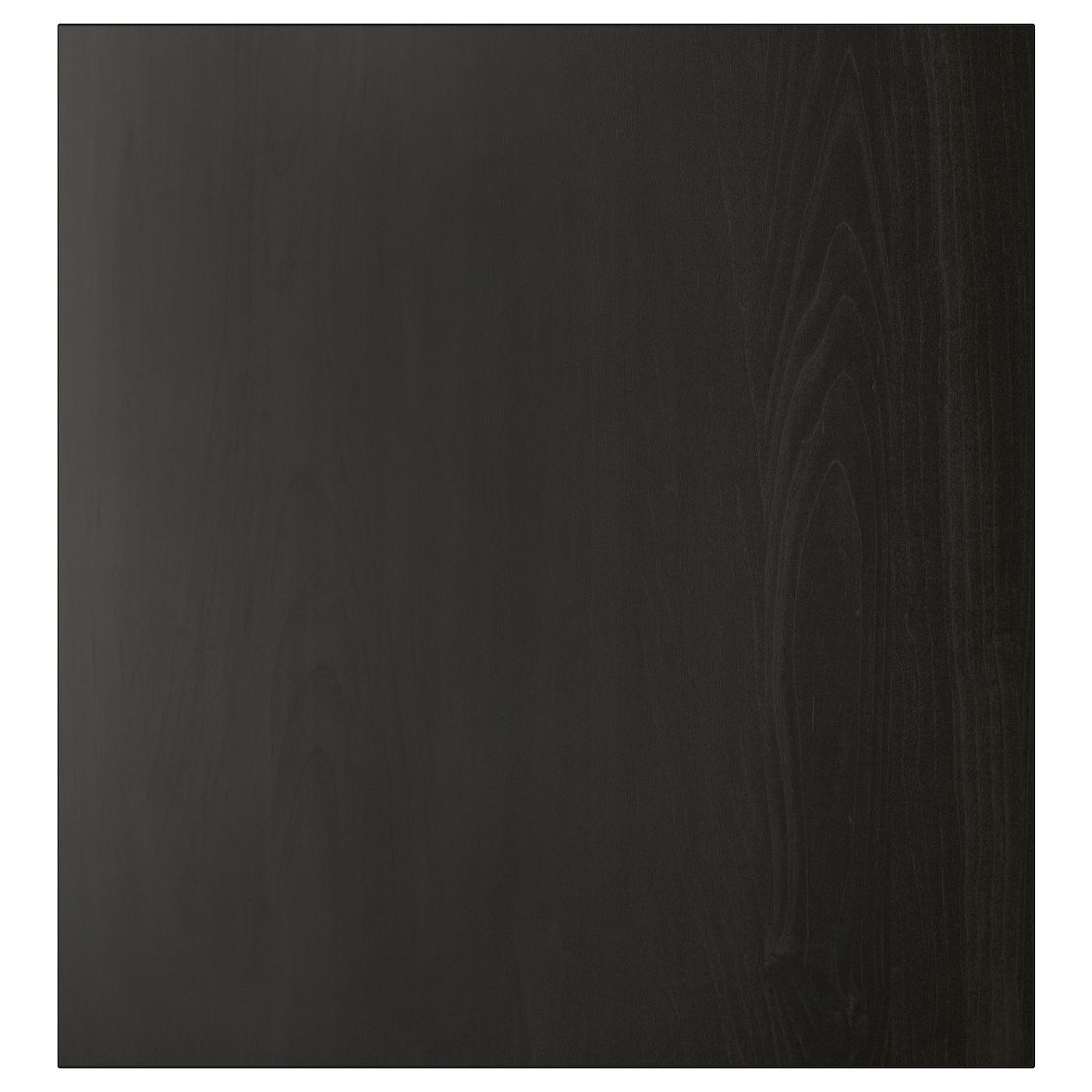 LAPPVIKEN, Tür, schwarzbraun, 802.916.70