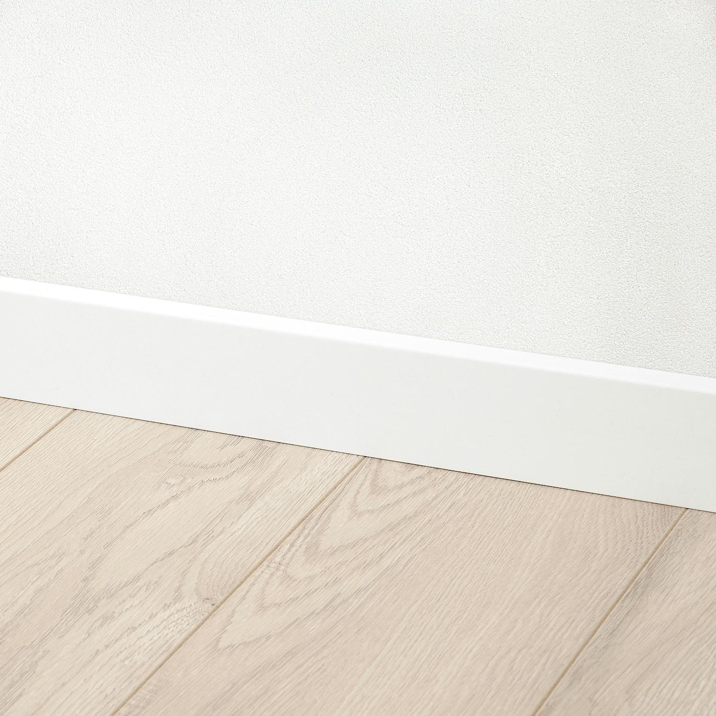 LAVHED Sockelleiste   weiß 20x20 cm