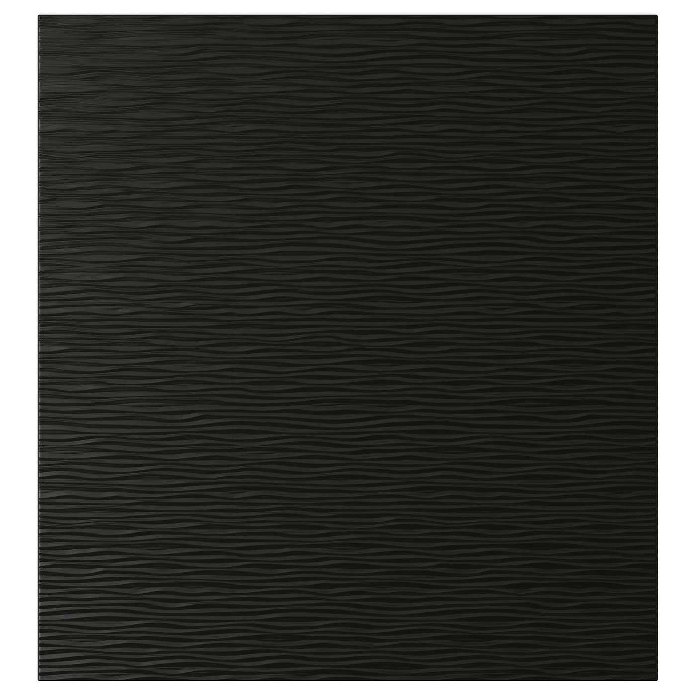 LAXVIKEN, Tür, schwarz 002.992.60