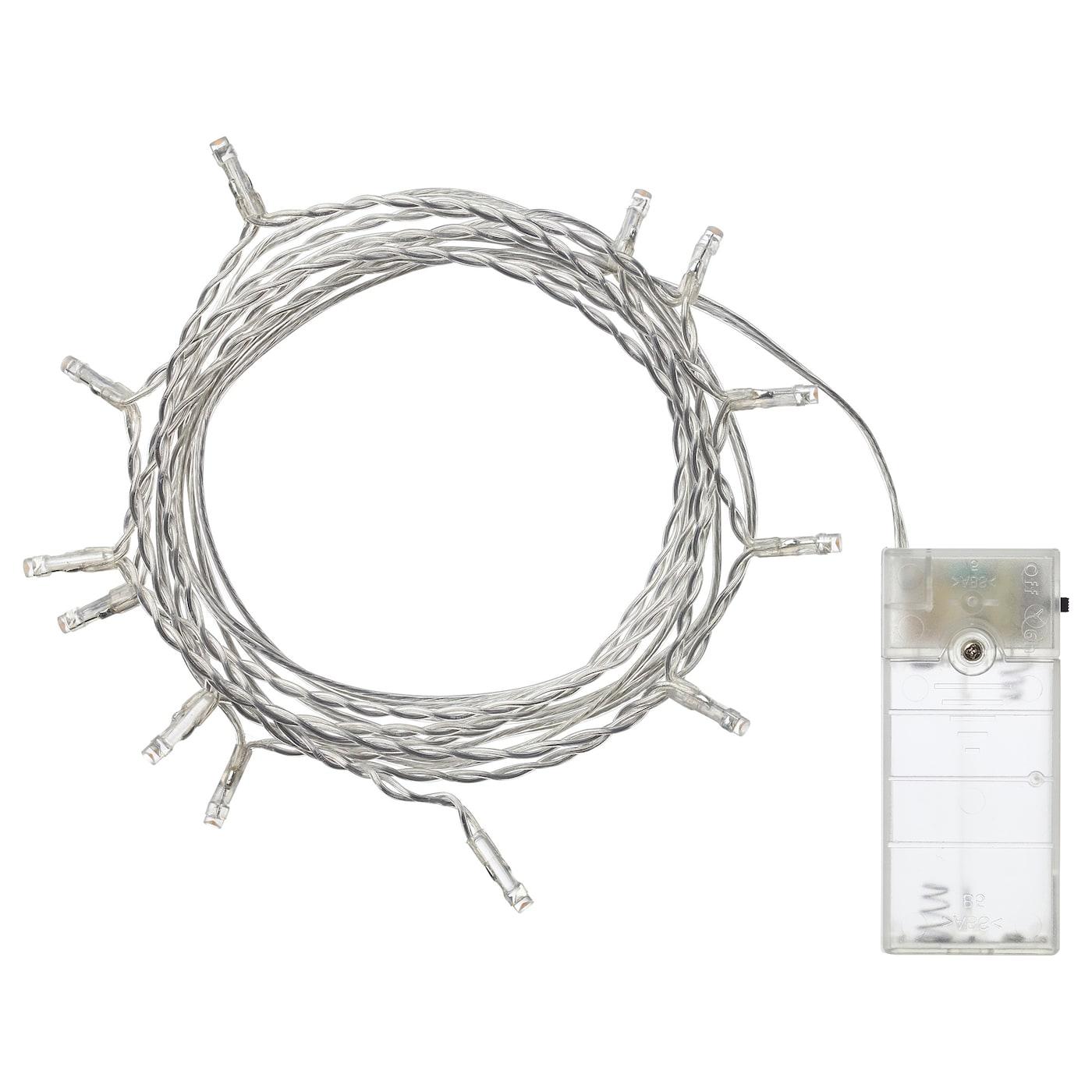 ledfyr lichterkette (12), led - ikea