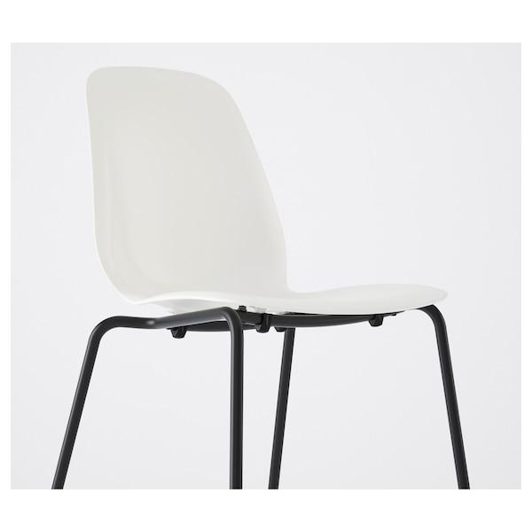 LEIFARNE Stuhl Weiß Broringe Schwarz IKEA Deutschland