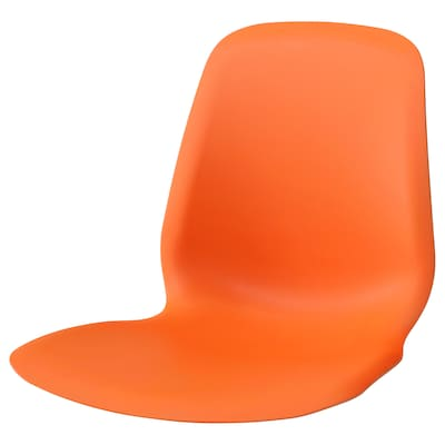 LEIFARNE Sitzschale, dunkelorange