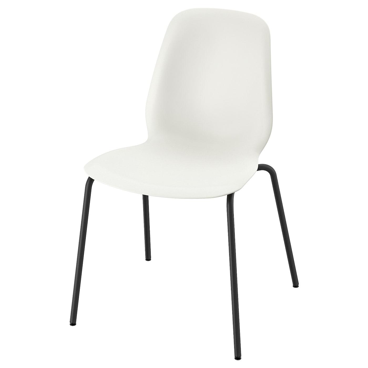 Ikea Leifarne Stuhl Weiss Broringe Schwarz Moebel Suchmaschine Ladendirekt De