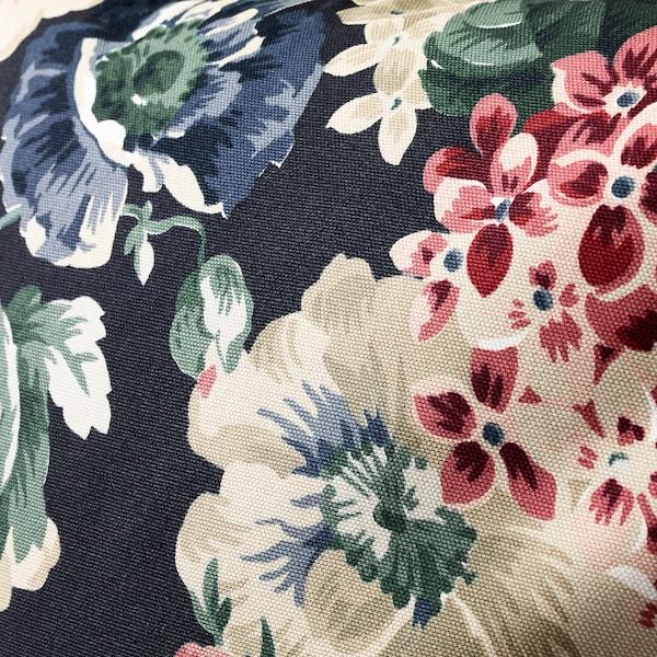 LEIKNY Kissenbezug, schwarz/bunt, 50x50 cm