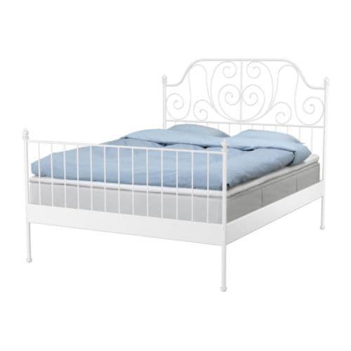 Ikea Dombas Triple Wardrobe ~ LEIRVIK Bettseiten Mit Bettkästen lässt sich der Platz unter dem