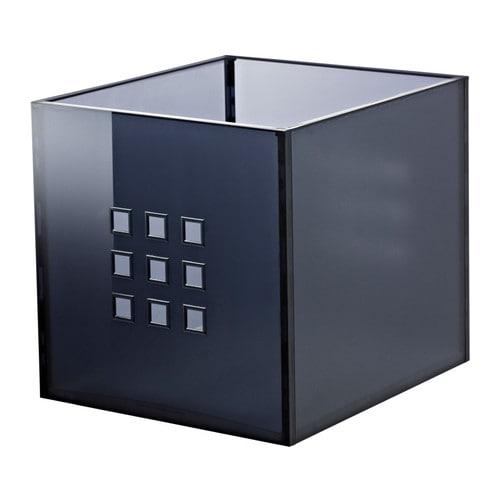 lekman box dunkelgrau ikea. Black Bedroom Furniture Sets. Home Design Ideas