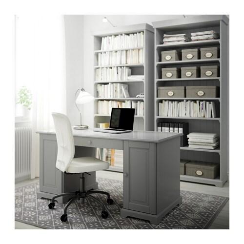 Liatorp Bücherregal Grau Ikea
