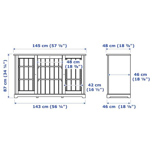 LIATORP Sideboard weiß 145 cm 48 cm 87 cm 75 kg