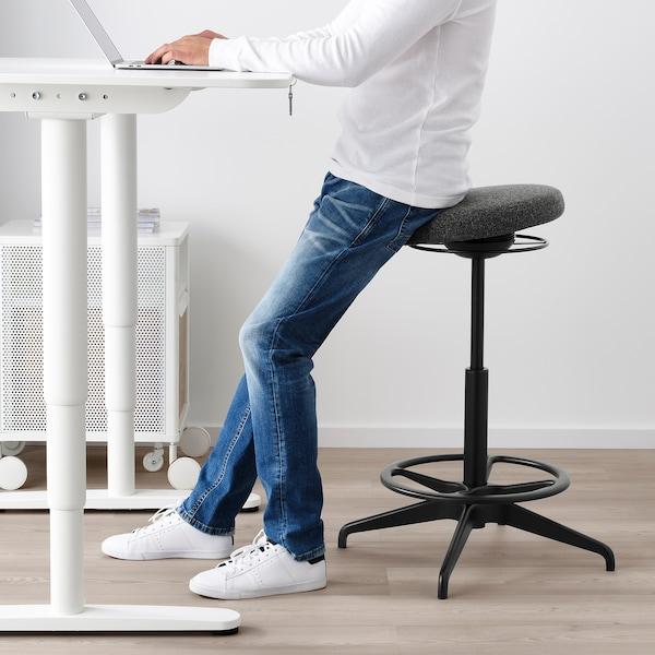 LIDKULLEN Sitz-/Stehstütze aktiv, Gunnared dunkelgrau