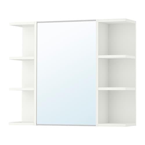 lill ngen spiegelschrank 1 t r 2 abschlregale ikea. Black Bedroom Furniture Sets. Home Design Ideas