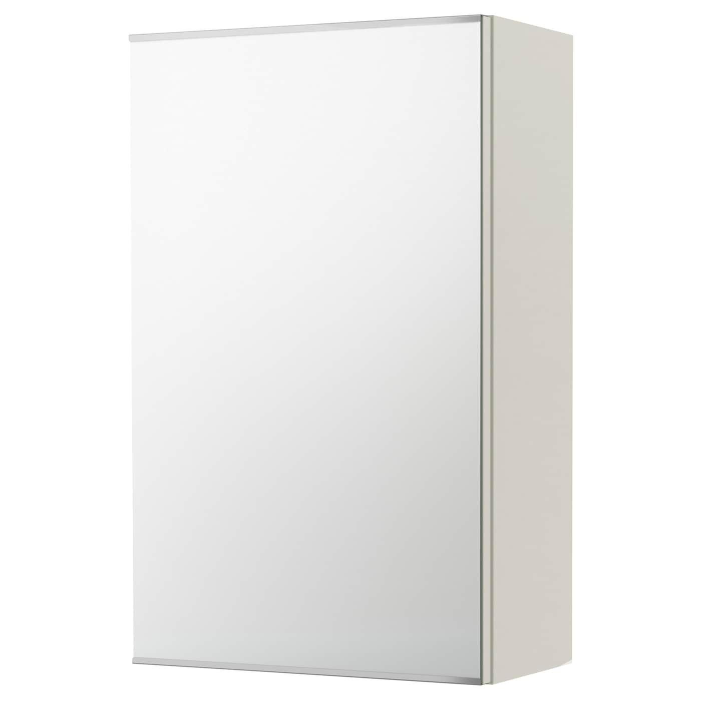 HEMNES Spiegelschrank 2 Türen - weiß, 103x16x98 cm - IKEA