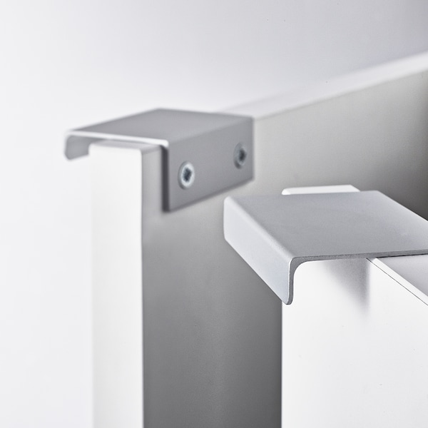 LILLÅNGEN Waschbeckenunterschrank, 2 Türen, weiß, 60x38x67 cm