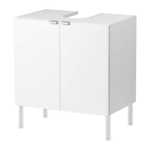 lill ngen waschbeckenunterschrank 2 t ren wei 60x38x61 cm ikea. Black Bedroom Furniture Sets. Home Design Ideas